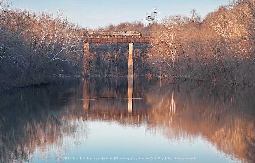 Monocacy Evening Freight